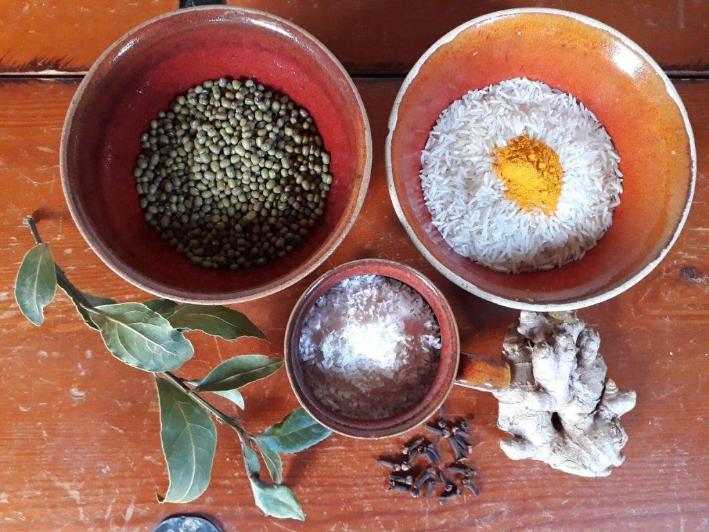 Ayurvedic cooking kitchari